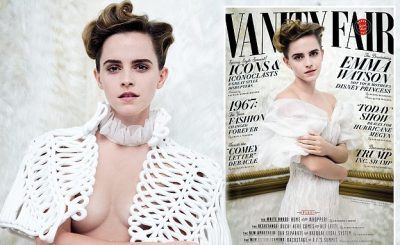 Emma Watson Covers Vanity Fair, Says She Will No Longer Take Photos With Fans!