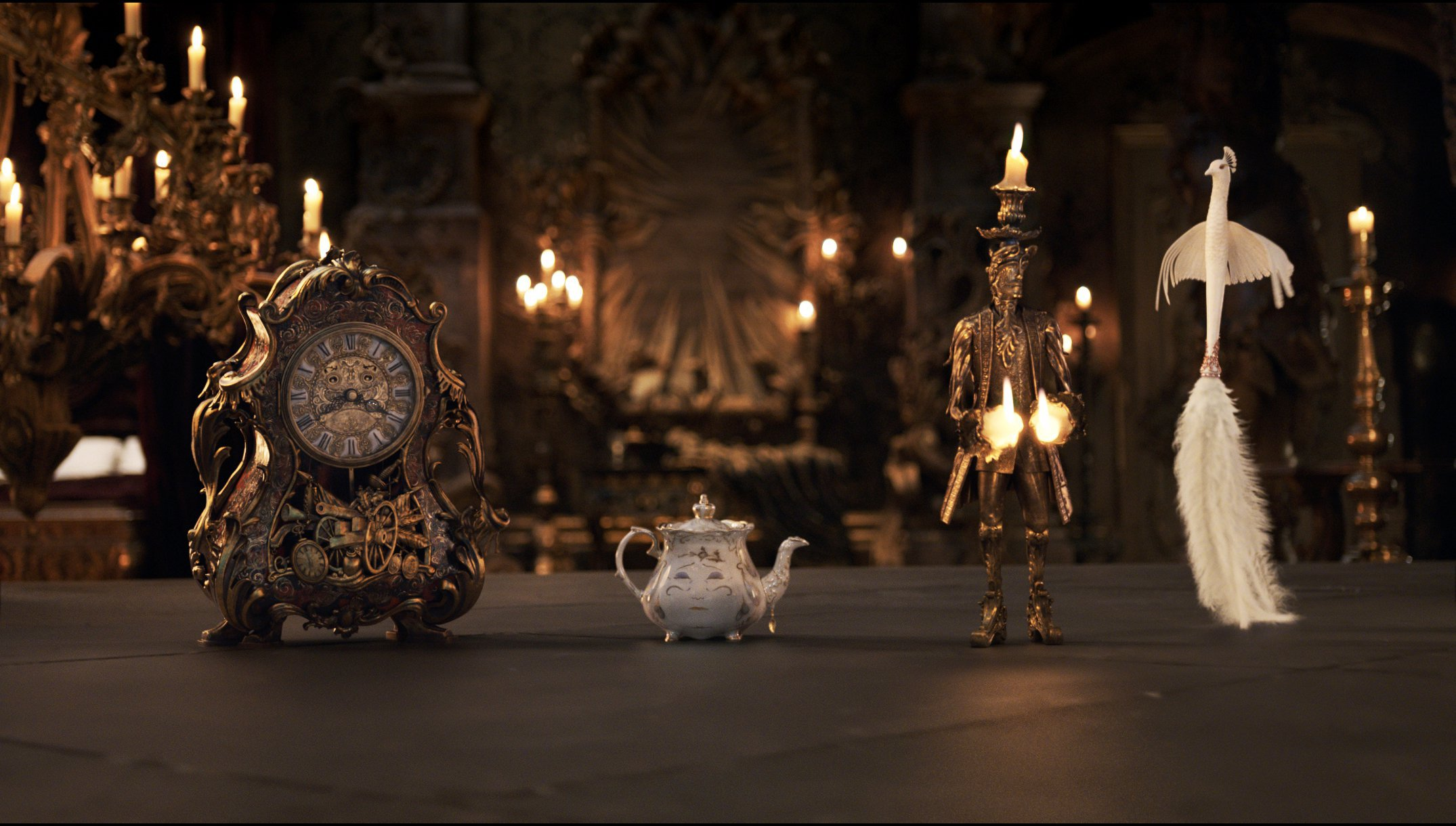 New Images from Disney's Live-Action BEAUTY AND THE BEAST Starring Emma Watson