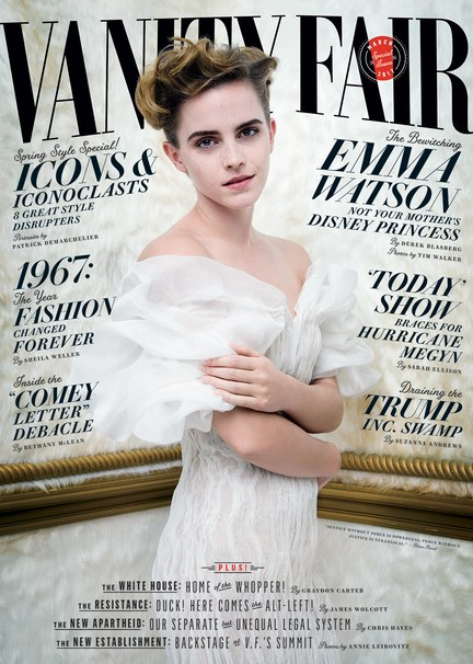 Emma Watson Covers Vanity Fair, Says She Will No Longer Take Photos With Fans! image