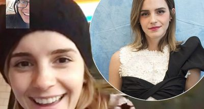 EMMA Watson Gives a Fan Advice via FaceTime!