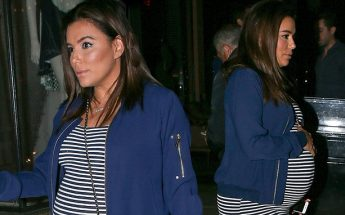 Pregnant Eva Longoria STEPS OUT!