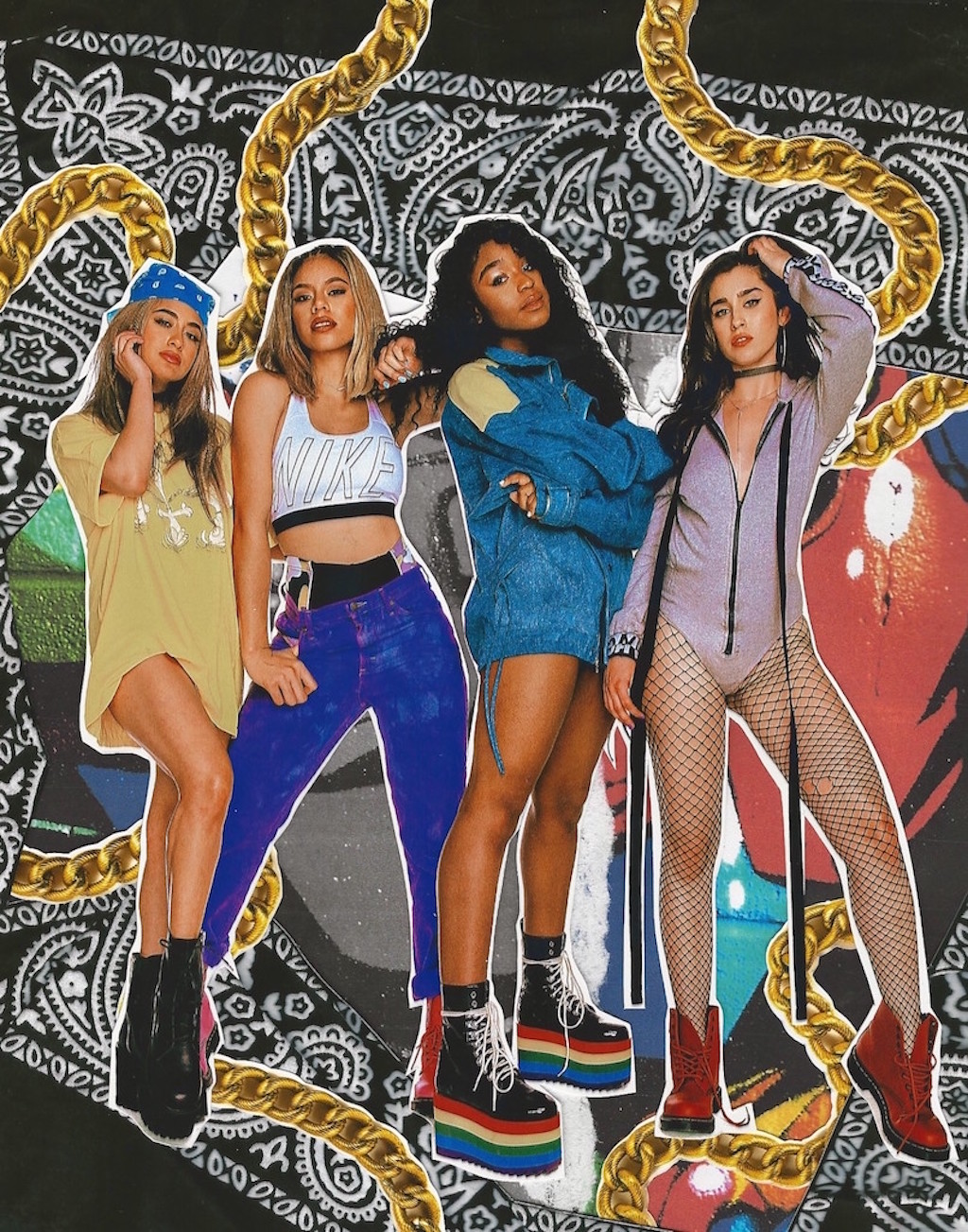 Fifth Harmony Are RETRO Poster Girls For Galore Magazine