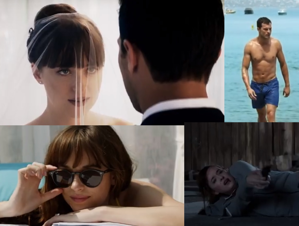 New Photos From'Fifty Shades FREED' Starring Rita Ora
