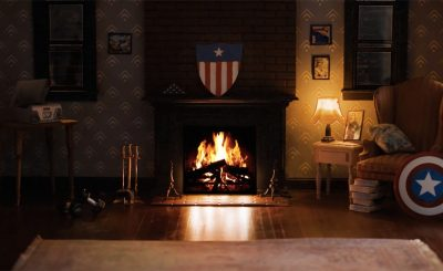 Marvel Superhero-Themed Fireplace Videos ft Captain America, Thor, and More!