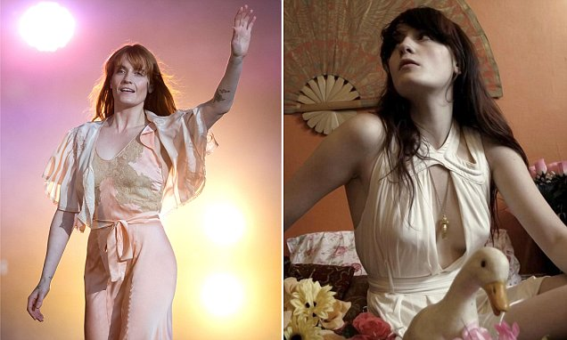 Florence & The Machine CUTS FOOT While Performing in America! image