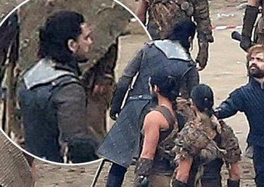 GAME OF THRONES Season Seven Spoiler Pics From Set – Jon & Daenerys Meet