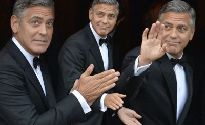 George Clooney Builds School For Syrian Refugees!