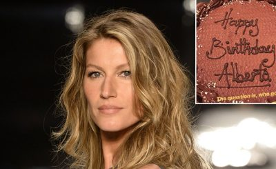 SO SORRY: Gisele Bundchen Gets the WRONG Birthday Cake!
