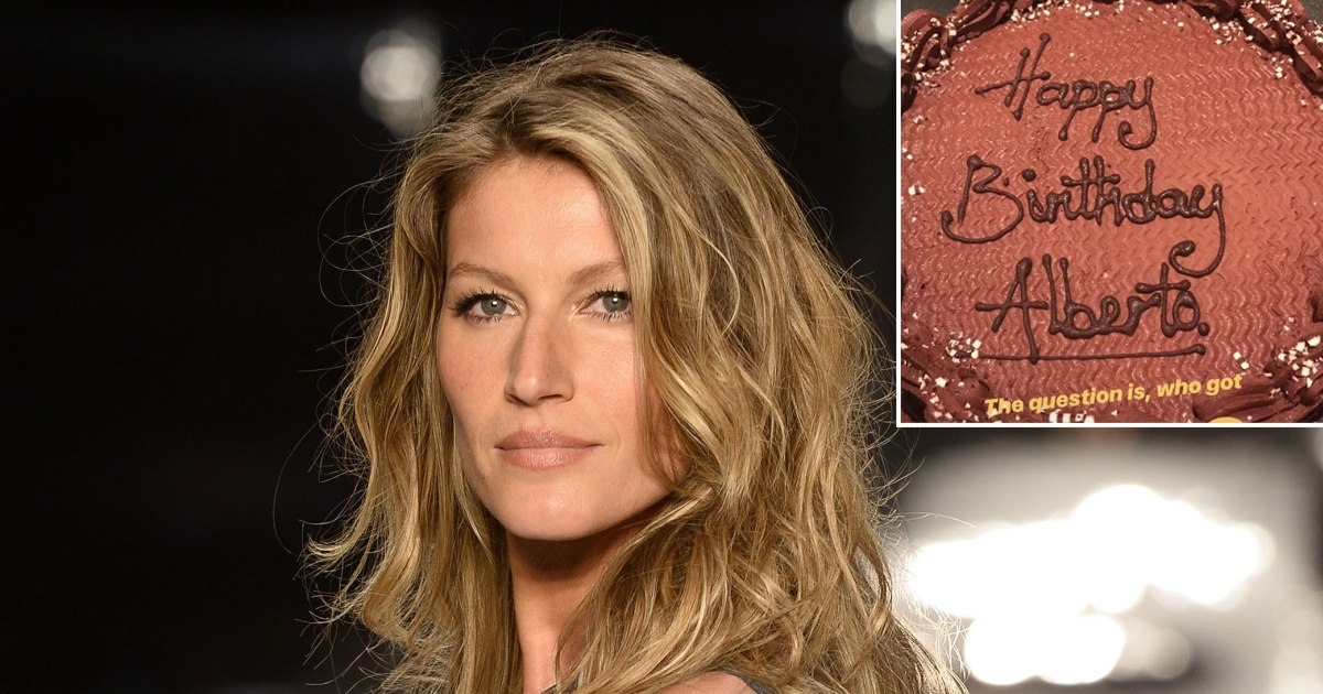 SO SORRY: Gisele Bundchen Gets the WRONG Birthday Cake! image