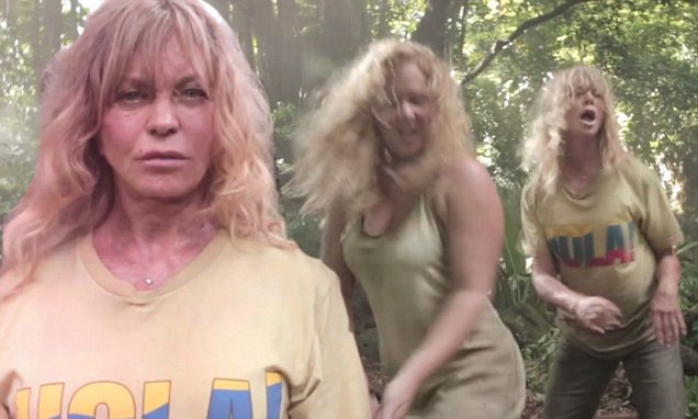 Goldie Hawn and Amy Schumer IN FORMATION For Beyoncé Parody image
