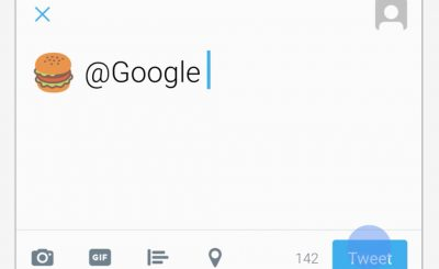EMOJI SEARCH: Tweet Emojis @ Google For Nearby LOCAL Suggestions! ???