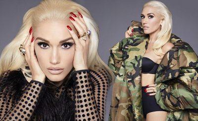 Gwen Stefani Covers Marie Claire, Talks About HEARTBREAK!