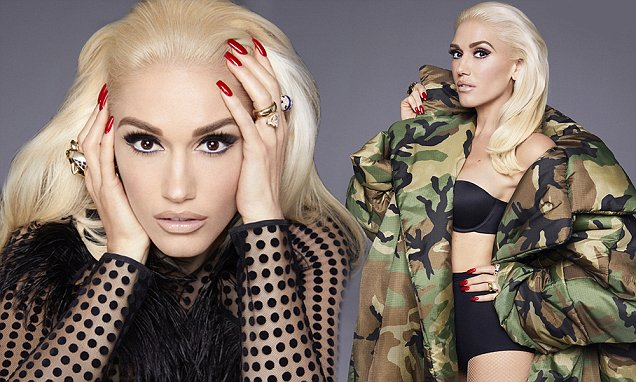 Gwen Stefani Covers Marie Claire, Talks About HEARTBREAK!