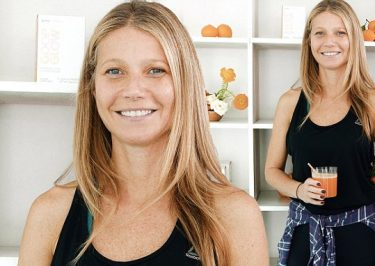 Gwyneth Paltrow NO MAKEUP to Celebrate New Beauty Supplement!