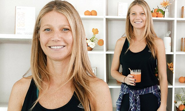 Gwyneth Paltrow NO MAKEUP to Celebrate New Beauty Supplement! image