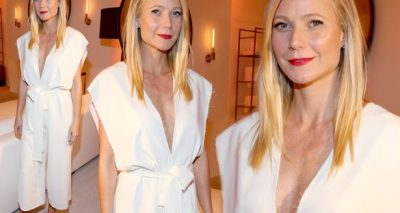 Gwyneth Paltrow Throws Luxury Dinner at Hamptons Home