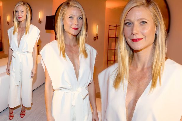 Gwyneth Paltrow Throws Luxury Dinner at Hamptons Home image