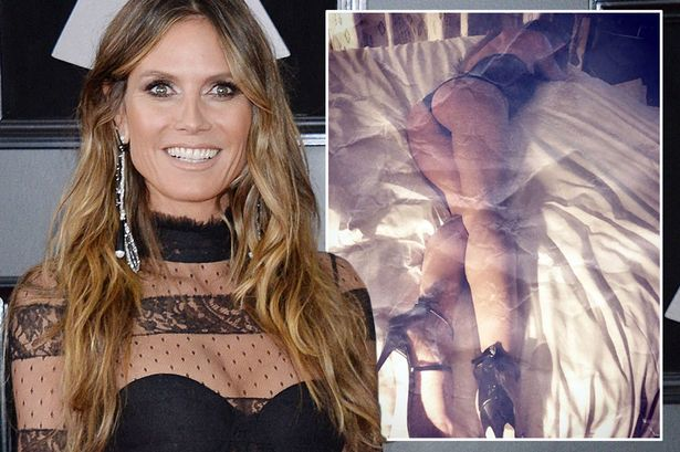 Heidi Klum Says Young Girls Should Wear High HEELS Without Shame! image