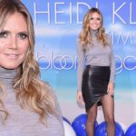Heidi Klum Takes a Sexy NAKED Bath For LOVE Magazine image