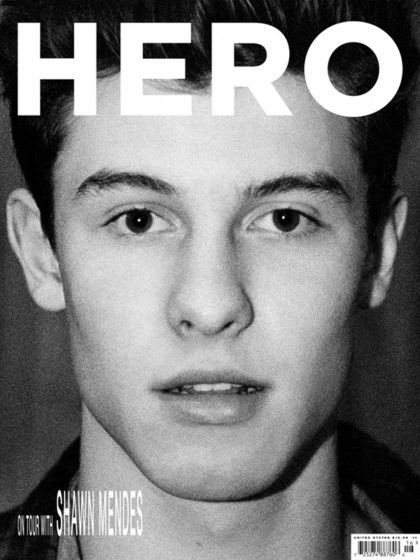 Shawn Mendes Nude For HERO Magazine image