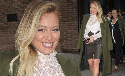 PARTY UP: Hilary Duff Bloated and Worse For Wear After 29th Birthday