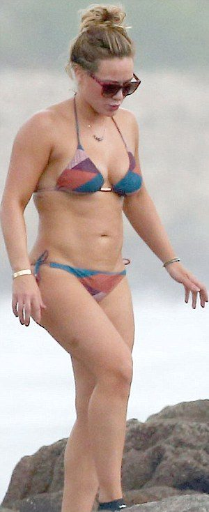 BIKINI LADY: Hilary Duff Shows Off Her Sexy Body in Mexico!