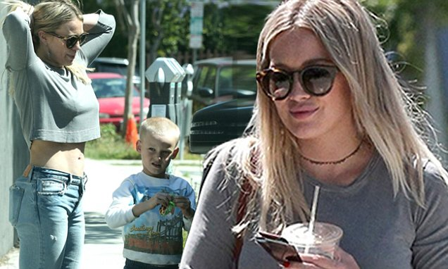 Hilary Duff's AMAZING WEEKEND: Hangs Out With Son and Lea Michele! image