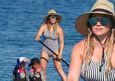 """Hilary Duff Tells Fans to """"KISS HER ASS!""""…ummmm"""