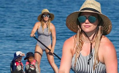"Hilary Duff Tells Fans to ""KISS HER ASS!""…ummmm"