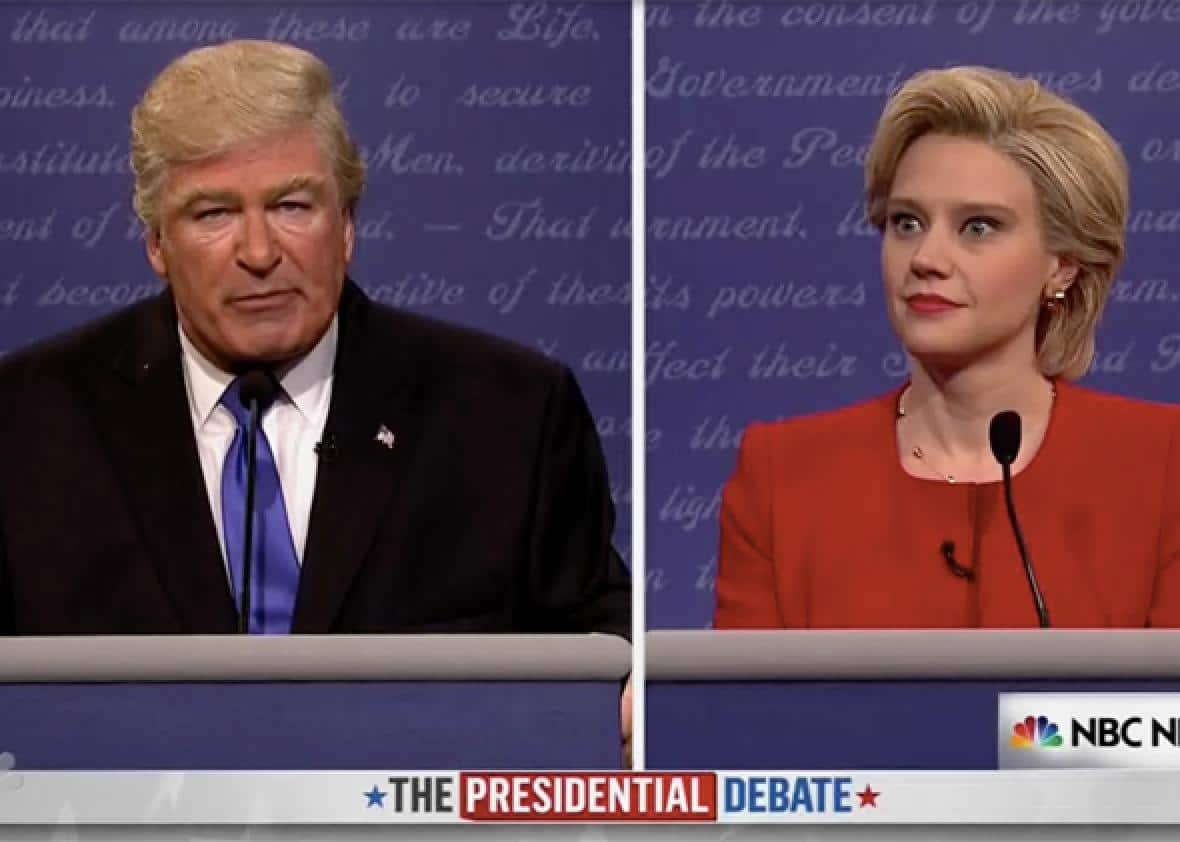 Alec Baldwin Plays Donald Trump on SNL Premiere image