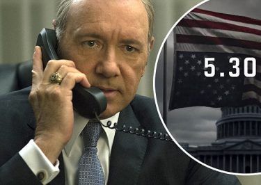 GLOOM & DOOM 'House of Cards' Season 5 Trailer Released on Donald Trump's Inauguration Day