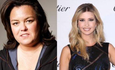 """FISH FIGHT"": Rosie O'Donnell Writes Poem After Run-In With Ivanka Trump at NOBU SUSHI"