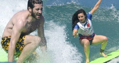 Jake Gyllenhaal Goes Nude Surfing With Friend Greta in St. Barts!