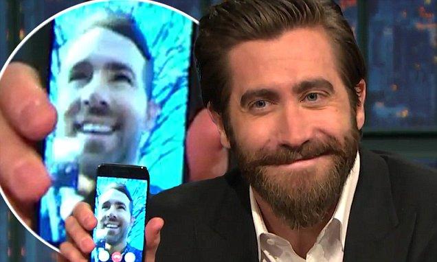 Jake Gyllenhaal FACETIMES Ryan Reynolds! image