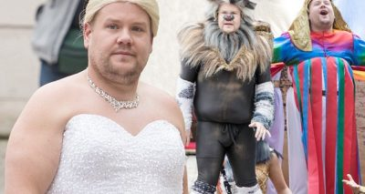 James Corden Wears a Wedding Dress, JUST LIKE Meghan Markle!