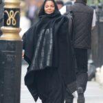Janet Jackson Converts to Islam, Wears Hijabi All Around London image