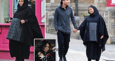 Janet Jackson Converts to Islam, Wears Hijabi All Around London