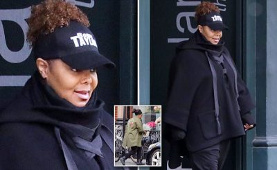 Janet Jackson Had Her Locks Changed WEEKS Before Splitting From Wissam!