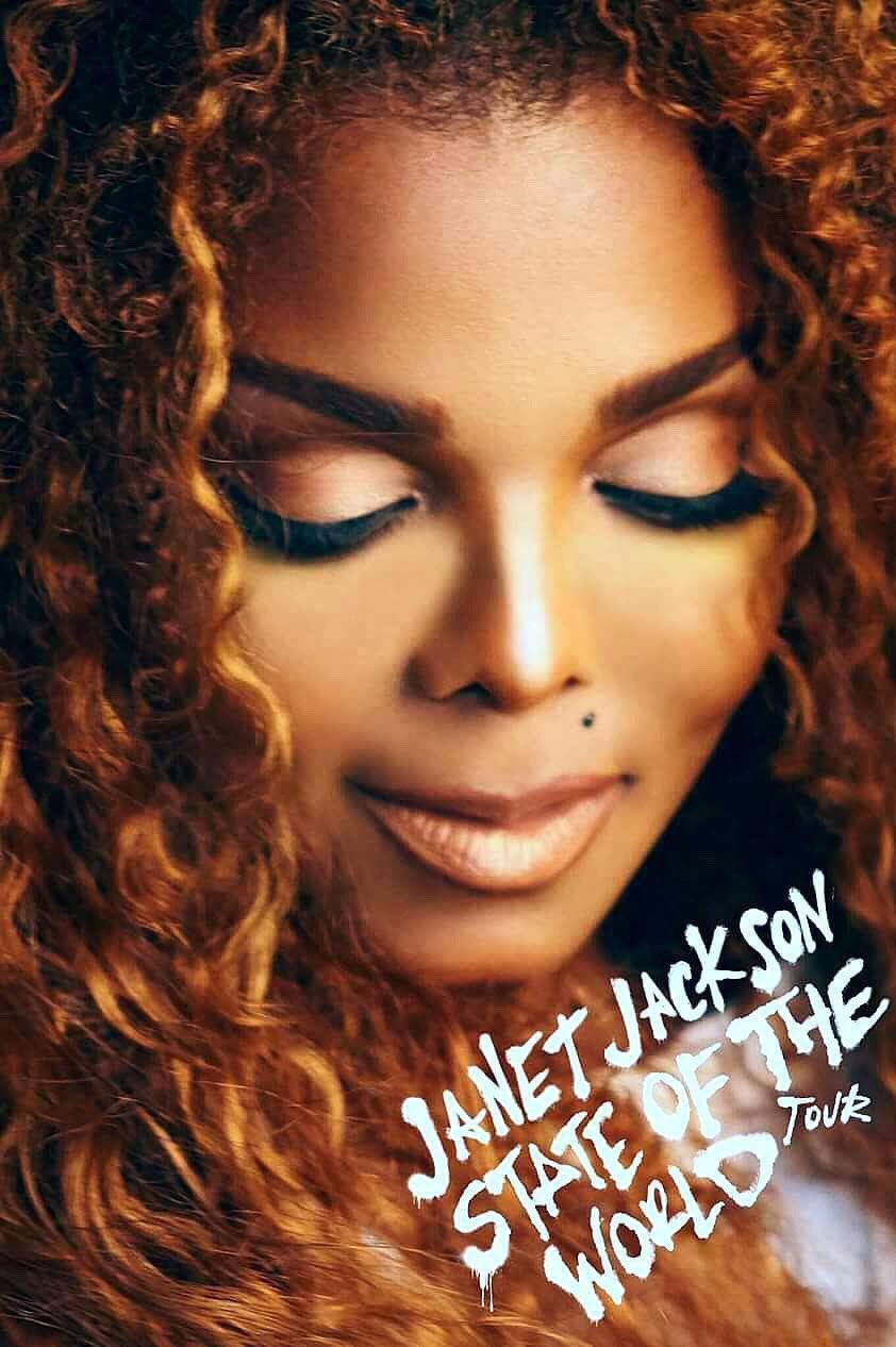 New Janet Jackson'STATE OF THE WORLD' Tour Poster!