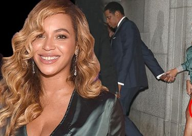 BEYONCE Attends Rihanna's Diamond Ball, WITH JAY-Z!