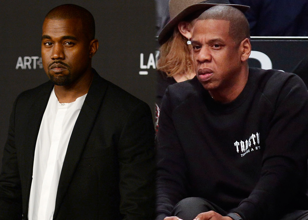 Jay-Z CANNOT STAND Kanye West! image