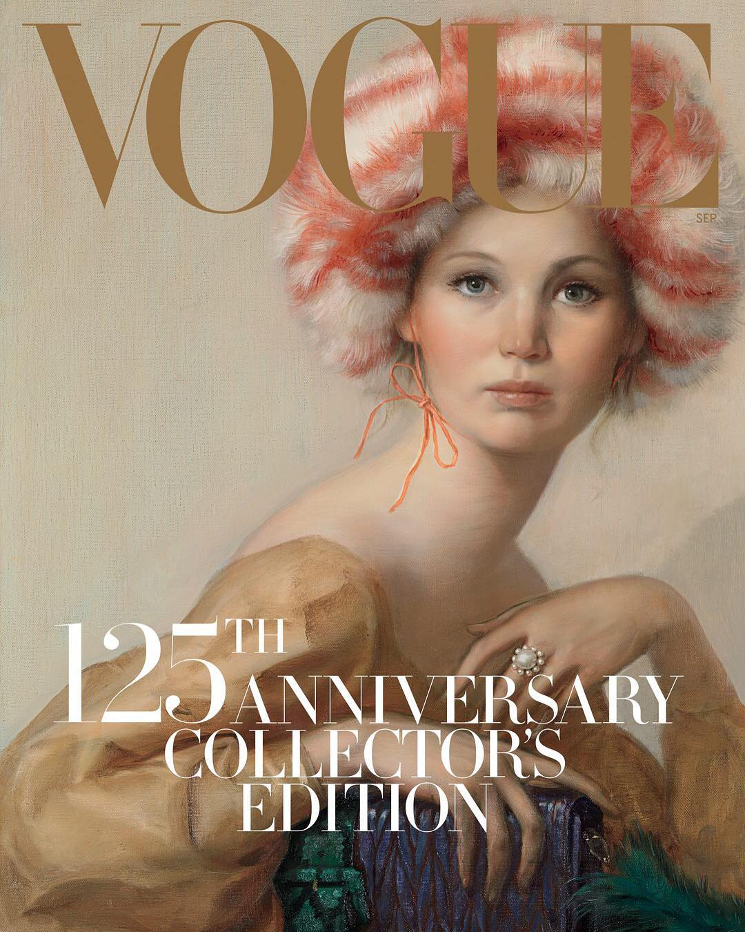 Jennifer Lawrence Covers VOGUE, Talks About Dating 50-Year-Old Men! image