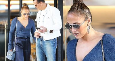 Jennifer Lopez Goes SHOPPING With Alex Rodriguez in Beverly Hills