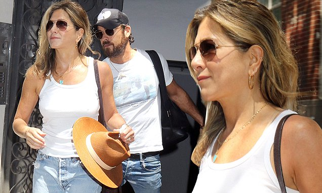 Jennifer Aniston's FUN DAY OUT With Justin Theroux