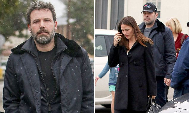 BEN AFFLECK Sent to Alcoholic REHAB!