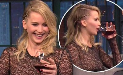 Jennifer Lawrence Was in a BAR FIGHT – in Budapest!