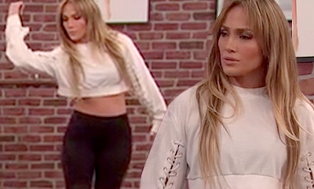 Jennifer Lopez Gets Taught to Dance by TODDLERS!