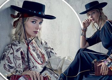 Jennifer Lawrence for Dior Cruise Collection 2018