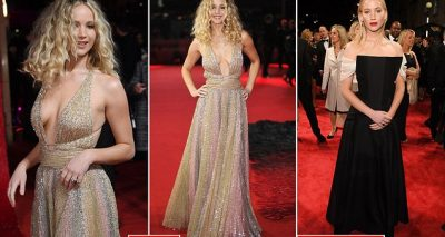 Jennifer Lawrence Amazes in Christian Dior For RED SPARROW Red Carpet!