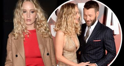 Jennifer Lawrence Looks MISERABLE in Red Before RED SPARROW Premiere!
